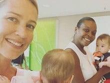 Desempregada, atriz Luana Piovani revela manter 5 babás para filhos