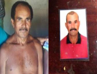 Na 1 foto, Francisco das Chagas Dias Pereira. Na 2 foto, Pedro Dias Pereira  (Crédito: Reprodução)