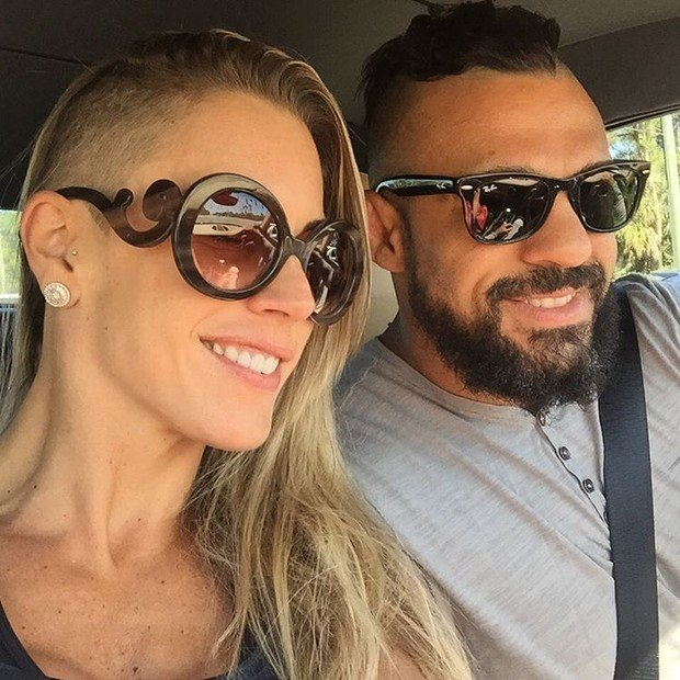 Joana Prado e Vitor Belfort (Crédito: Reprodução)