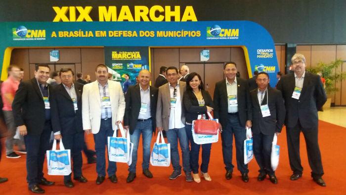 Prefeitos do Piauí participam de XIX Marcha a Brasília em Defesa dos Municípios