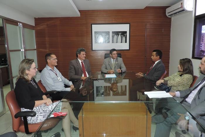 MP e Sesapi firmam parceria (Crédito: Reprodução)