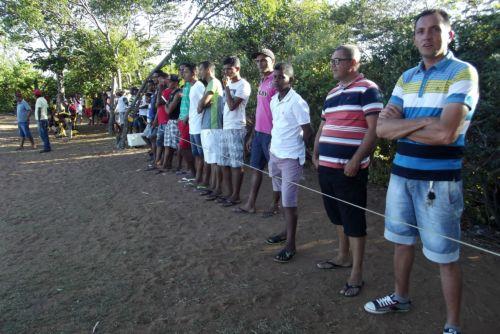 Torcida lota o campo de futebol o Sobradão (Crédito: José Carlos da Silva)