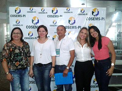Oeiras participa de congresso de Saúde