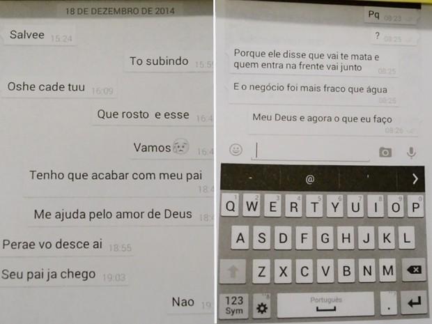 Jovem de 19 anos encomendou morte do pai via whastapp  (Crédito: Divulgação)