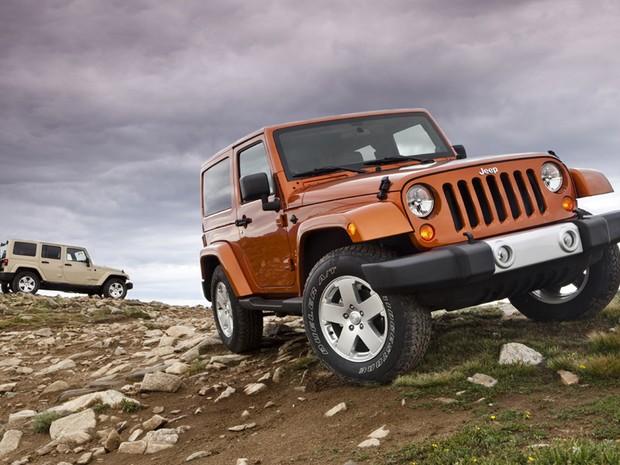 Jeep Wrangler 2011 (Crédito: Divulgação)