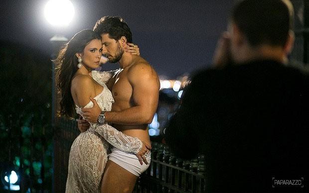Kamilla e Eliéser no Paparazzo  (Crédito: Paparazzo )