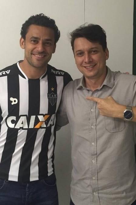 Fred no Fluminense (Crédito: Reprodução)