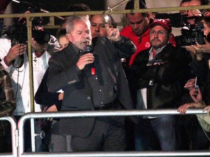 Lula em ato na avenida Paulista (Crédito: Reprodução)