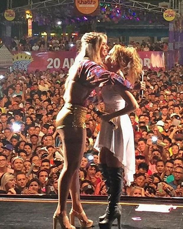Joelma e Thábata (Crédito: Reprodução)