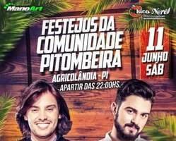 Grande Festa com IOHANNES e DUDU NOGUEIRA Hoje 11 em Pitombeira