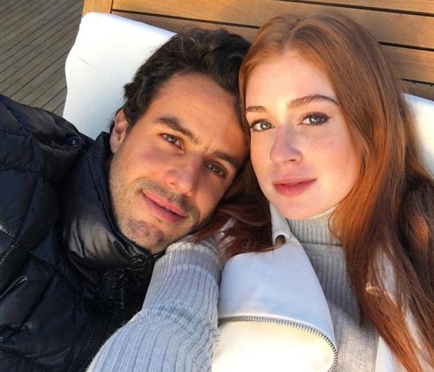 Marina Ruy Barbosa e o namorado Xandinho Negrão