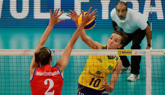 Brasil venceu a Servia