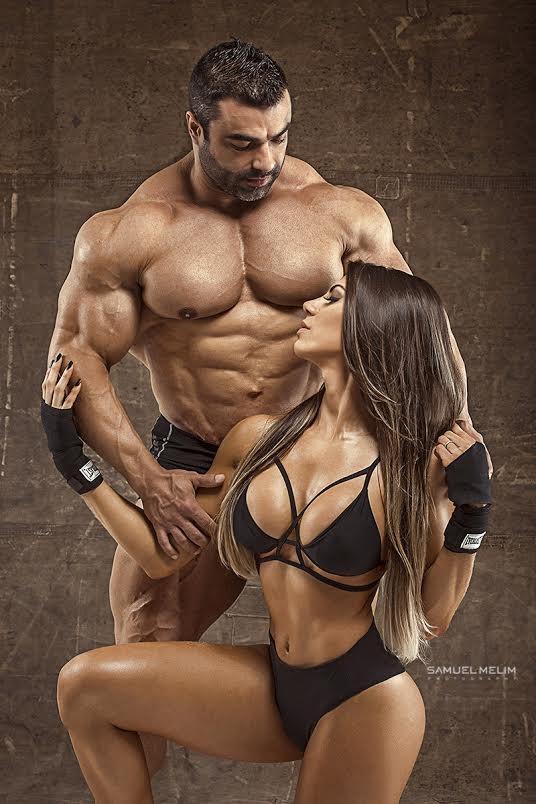 Carol Saraiva e Eduardo Correa (Crédito: Reprodução)