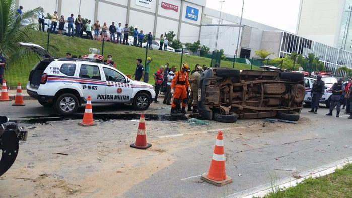 Acidente aconteceu no Maranhão Novo