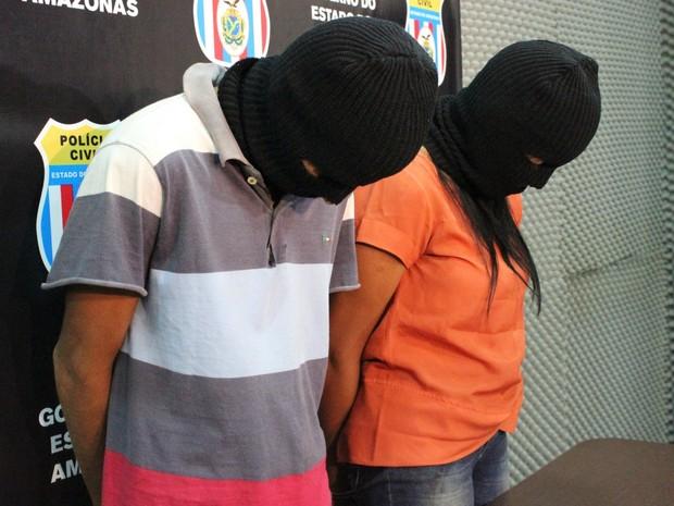 Casal foi preso após bebê ser violentado (Crédito: G1)