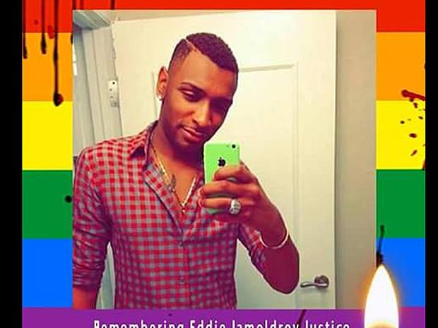 Página da mãe de Eddie tinha uma foto do filho, vítima do ataque em Orlando