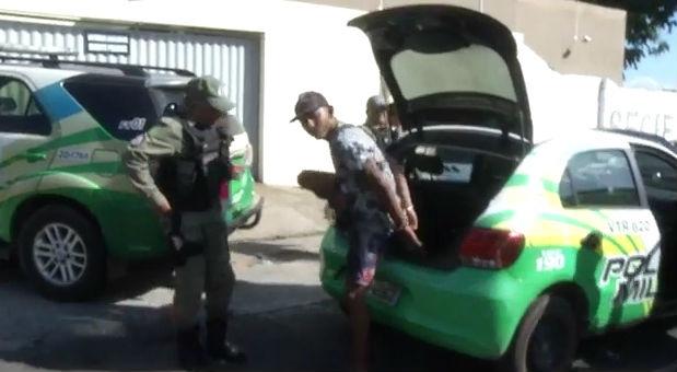 Acusado foi levado para Central de Flagrantes