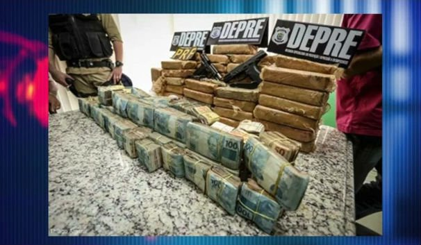Em 2016, a Depre já apreendeu 136 kg de drogas