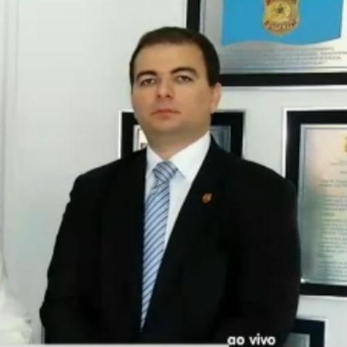 delegado Lucimar Sobral Neto, chefe da Delegacia Especializada em Crimes Previdenciários do Piauí (Crédito: Rede Meio Norte)