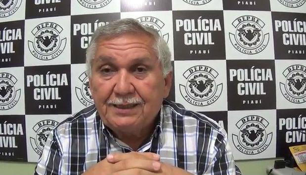 Coordenador da Delegacia de Prevenção e Repressão a Entorpecentes (Depre), Menandro Pedro