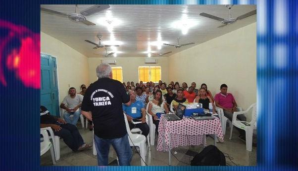 Depre realiza trabalho contra o tráfico de drogas em escolas no Piauí