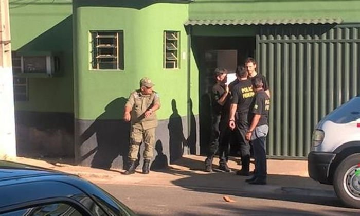 PF prende 9 pessoas em Valença (Crédito: Portal V1)