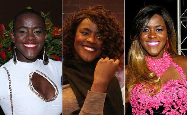 Ex-BBB Angélica vai com peruca de R$ 2 mil a festa em SP (Crédito: Reprodução)