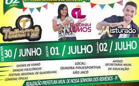 PREFEITURA realizará festival junino em Nossa Srª dos Remédios/Pi
