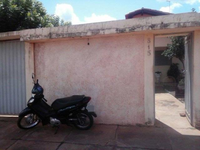 Residência alvo dos bandidos (Crédito: Reprodução)