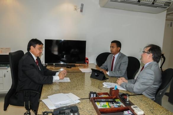 Audiência com o Secretário de Saúde, Dr. Francisco