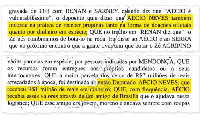 Aécio Neves (PSDB-MG) teria recebido R$ 1 milhão em dinheiro, segundo Sérgio Machado - Reprodução  Leia mais sobre esse assunto em http://oglobo.globo.com/brasil/machado-diz-que-aecio-recebeu-doacao-ilegal-de-1-milhao-em-dinheiro-19511661#ixzz4Bg6FpG3y © 1996 - 2016. Todos direitos reservados a Infoglobo Comunicação e Participações S.A. Este material não pode ser publicado, transmitido por broadcast, reescrito ou redistribuído sem autorização.