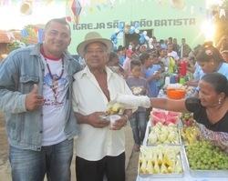 Festejos de São João Batista começou hoje 15 de Junho em Tamboril