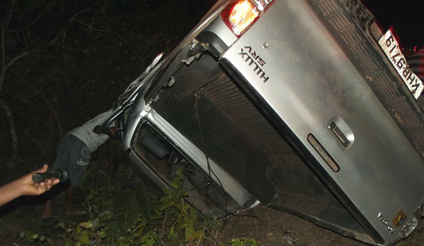 Veículo envolvido no acidente na BR-230
