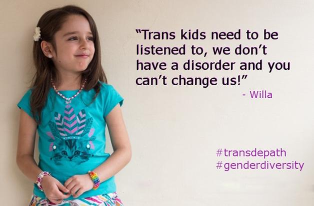 Criança transgênero (Crédito: Reprodução)
