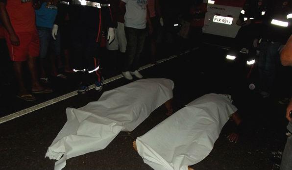 Vítimas do acidente na BR-230 (Crédito: nazarenet)