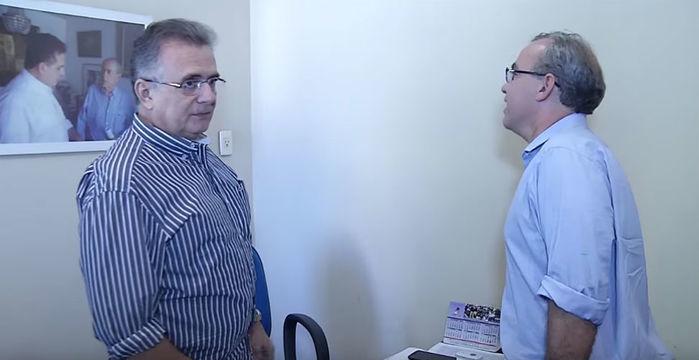 Firmino Filho em encontro com o deputado federal Flávio Nogueira (Crédito: Reprodução)