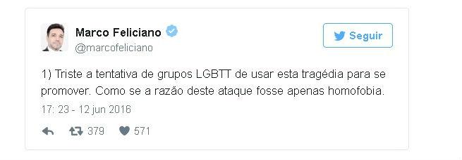 Mensagem publicada por Marco Feliciano