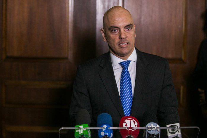 Ministro da Justiça, Alexandre de Moraes (Crédito: Reprodução)