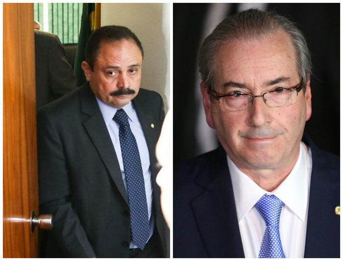 Waldir Maranhão e Eduardo Cunha