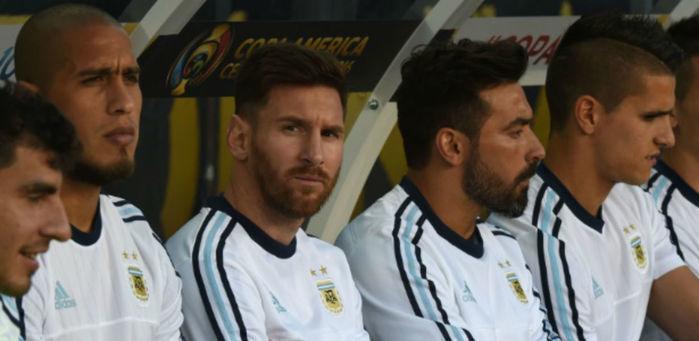 Novo visual de Messi (Crédito: Reprodução)