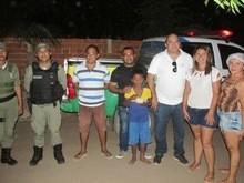 Policia do 18º BPM Realiza Ação Social nos Bairros de Água Branca