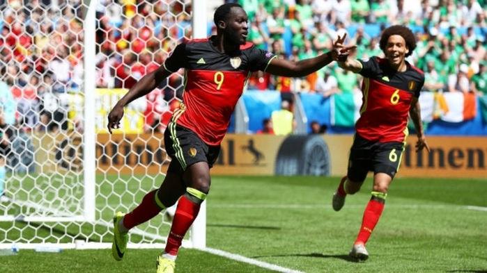 Lukaku (duas vezes) e Witsel marcaram os gols da vitória por 3 a 0 (Crédito: Getty)