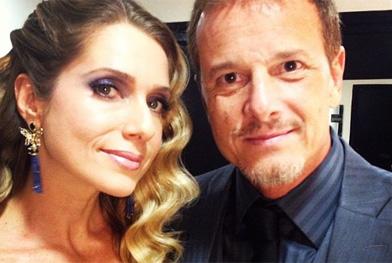 Letícia e Marcelo juntos em novela