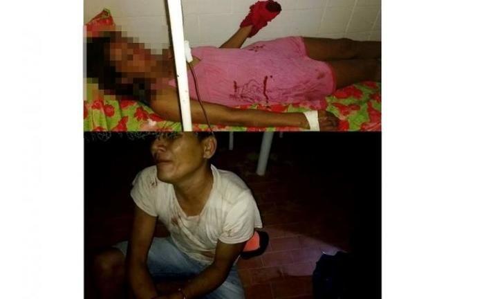 A vítima foi esfaqueada pelo marido que se encontra preso