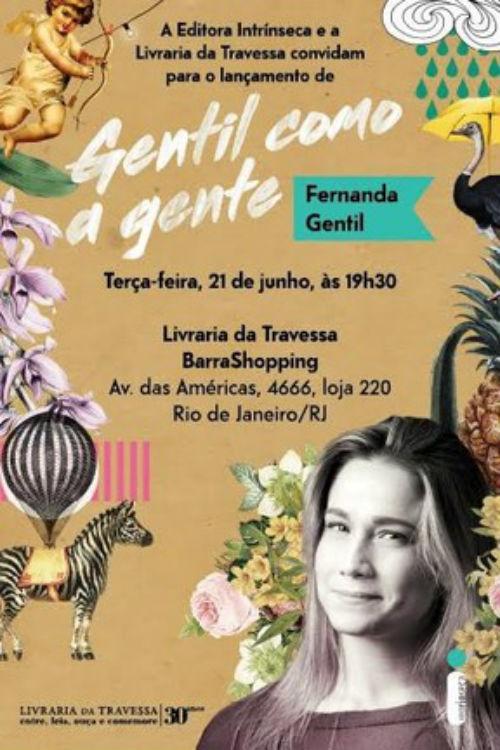 Gentil como a Gente, de Fernanda Gentil (Crédito: Reprodução)