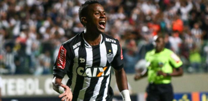 Cazares comemora gol diante da Ponte (Crédito: Reprodução)