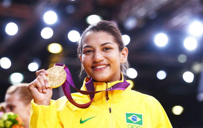 Judoca Sarah Menezes (Crédito: Reprodução)