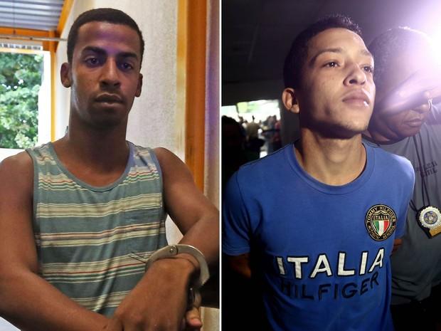 Raí de Souza, de 22 anos, e Lucas Perdomo Duarte Santos, de 20 (Crédito: Estadão)