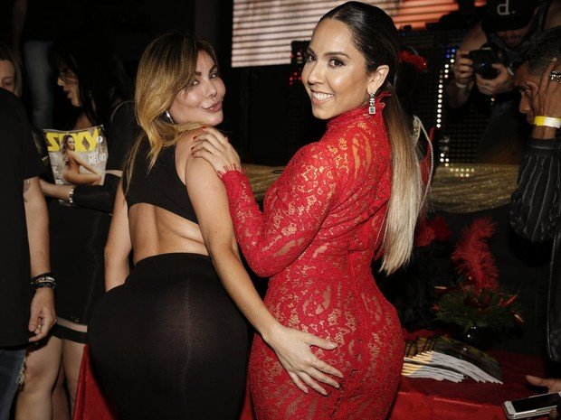Liziane Gutierrez e Mulher Melão