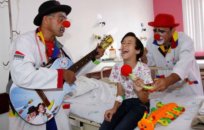 Doutores da Alegria (Crédito: Reprodução)